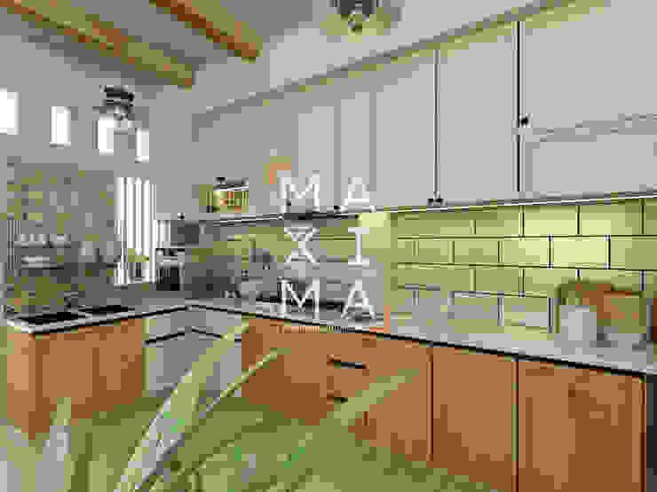 Dapur Oleh Maxima Studio Medan Interior Design & Arsitek
