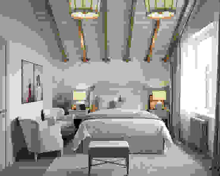Industrial style bedroom by Студия интерьеров Зориной Елены Industrial