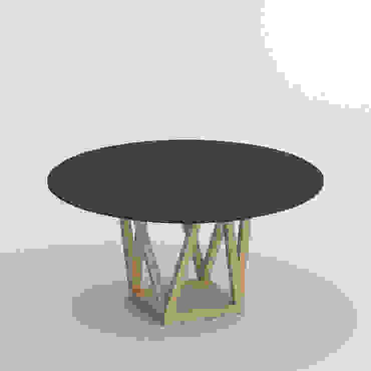 tavolo piano in resina colorata Sala da pranzo moderna di Mobili a Colori Moderno Gomma