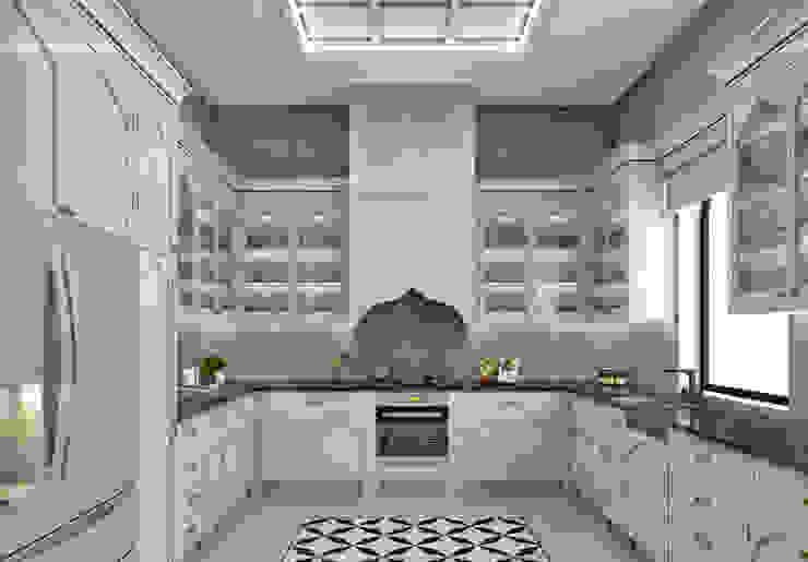 Libya Villa-2 Klasik Mutfak homify Klasik İşlenmiş Ahşap Şeffaf
