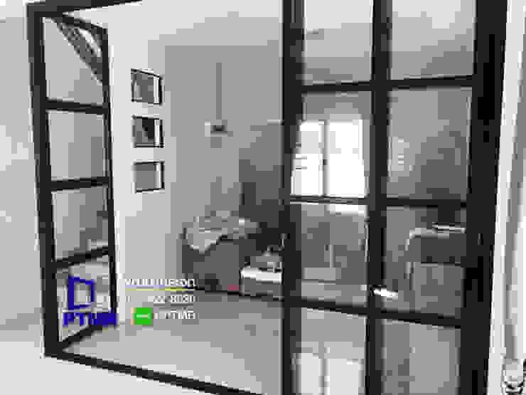 กั้นกระจกห้องใหม่ในบ้าน พัฒนากระจก พัทยา Pattana Mirror