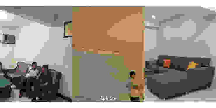 客廳沙發區 根據 業傑室內設計