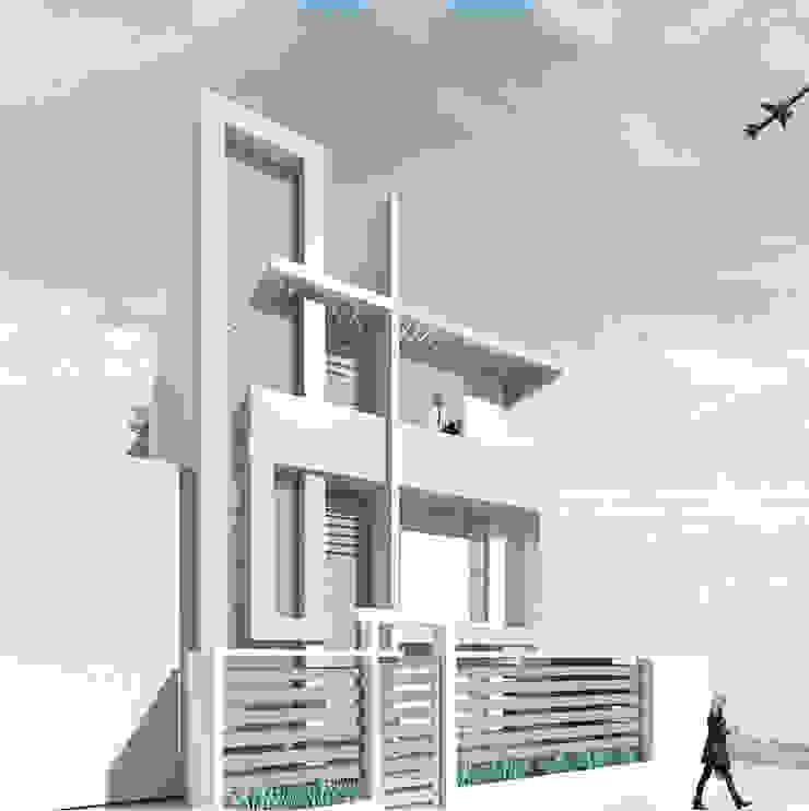 casa capri Casas de estilo minimalista de Am arquitectura Minimalista