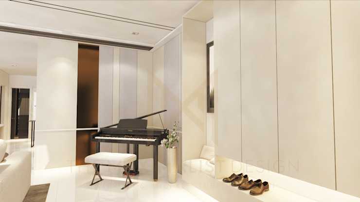 LAMAN HIJAU LOT 32, PRIVATE RESIDENT by THE MAXIMALIST DESIGN Modern Plywood