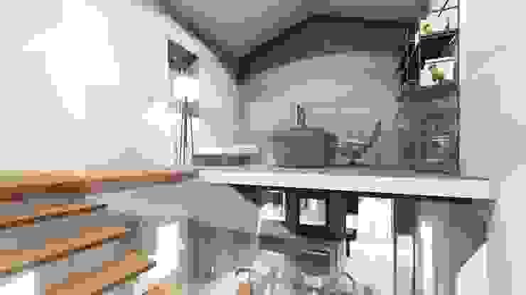 STUDIO ARCHITETTURA SPINONI ROBERTO Rustic style bedroom