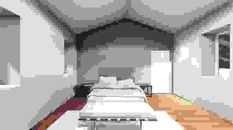 STUDIO ARCHITETTURA SPINONI ROBERTO Minimalist bedroom