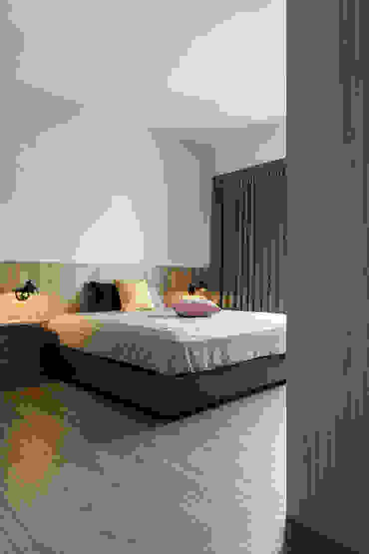 主臥室 根據 詩賦室內設計 現代風