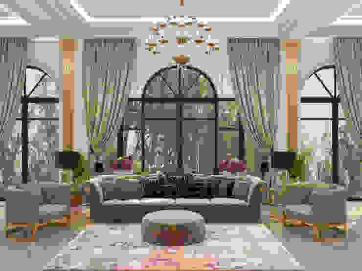 Гостиная Гостиная в классическом стиле от Franklin studio Классический