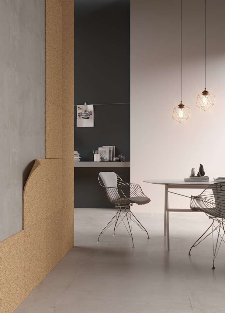 Sustainable building materials Go4cork Modern walls & floors Cork