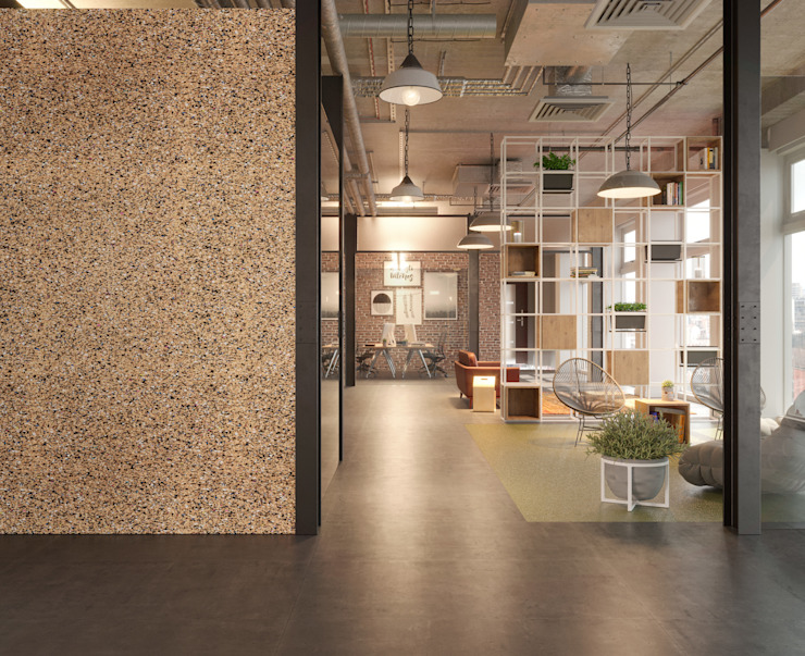Office walls Modern study/office by Go4cork Modern Cork