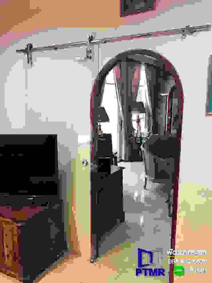 กั้นบานกระจก เปลือย เท่ห์ๆ ในบ้าน โดย พัฒนากระจก พัทยา Pattana Mirror
