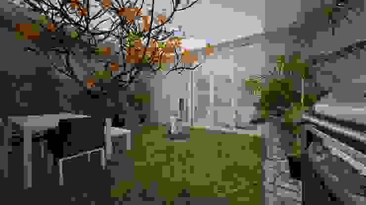 Балкон и терраса в стиле модерн от عبدالسلام أحمد سعيد Модерн