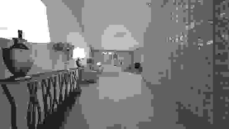 Коридор, прихожая и лестница в модерн стиле от عبدالسلام أحمد سعيد Модерн