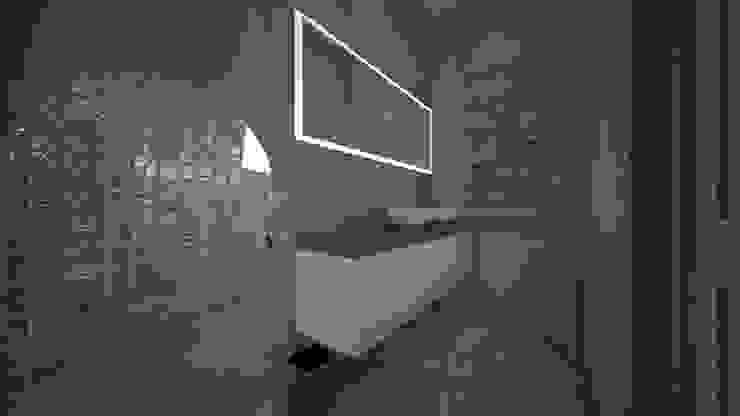 Ванная комната в стиле модерн от عبدالسلام أحمد سعيد Модерн
