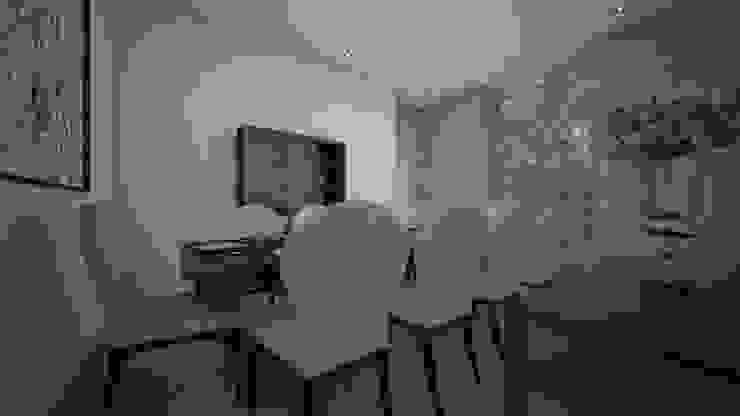 Столовая комната в стиле модерн от عبدالسلام أحمد سعيد Модерн