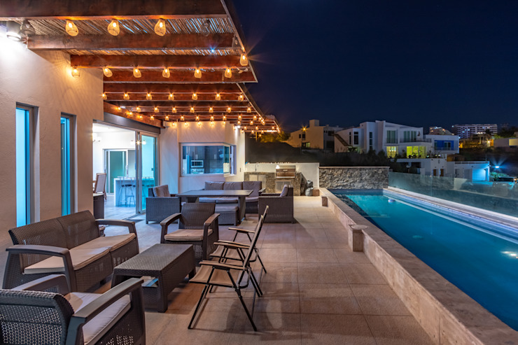 Casa Bellaterra Balcones y terrazas modernos de Delta Studio Arquitectura Moderno