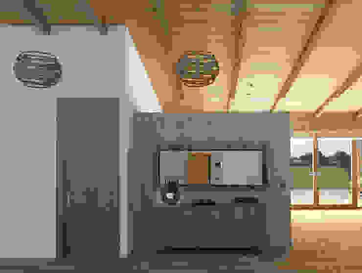 Mediterranean corridor, hallway & stairs by arQmonia estudio, Arquitectos de interior, Asturias Mediterranean