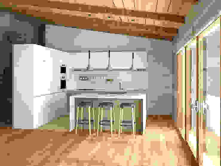 by arQmonia estudio, Arquitectos de interior, Asturias Mediterranean