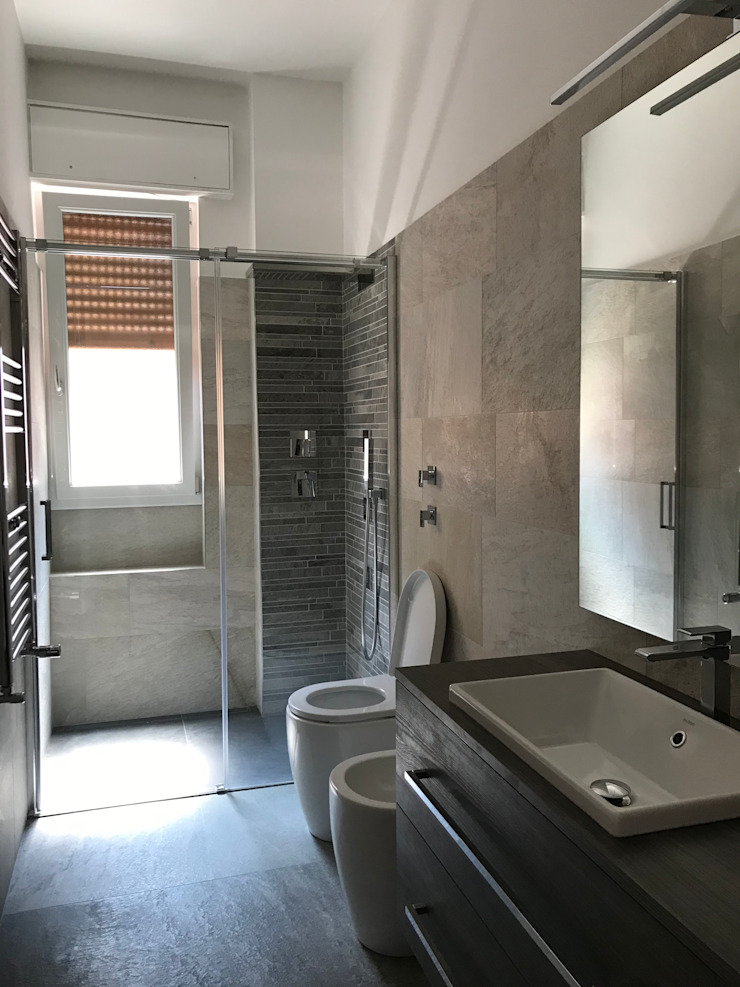 Koloniale badkamers van Cozzi Arch. Mauro Koloniaal