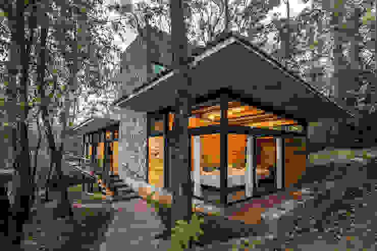 Recámara Casas modernas de Saavedra Arquitectos Moderno Concreto