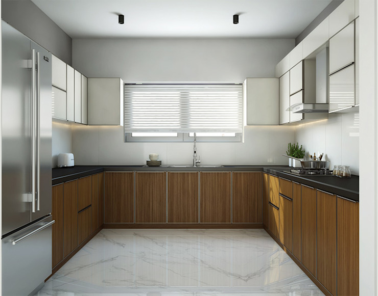 residential:  Kitchen by Inland Indoors,