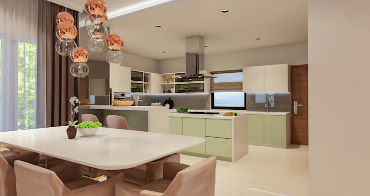 De Panache - Interior Architects Modern kitchen