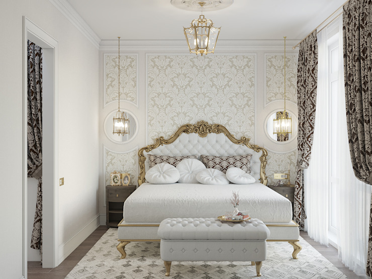 Classic style bedroom by «Студия 3.14» Classic