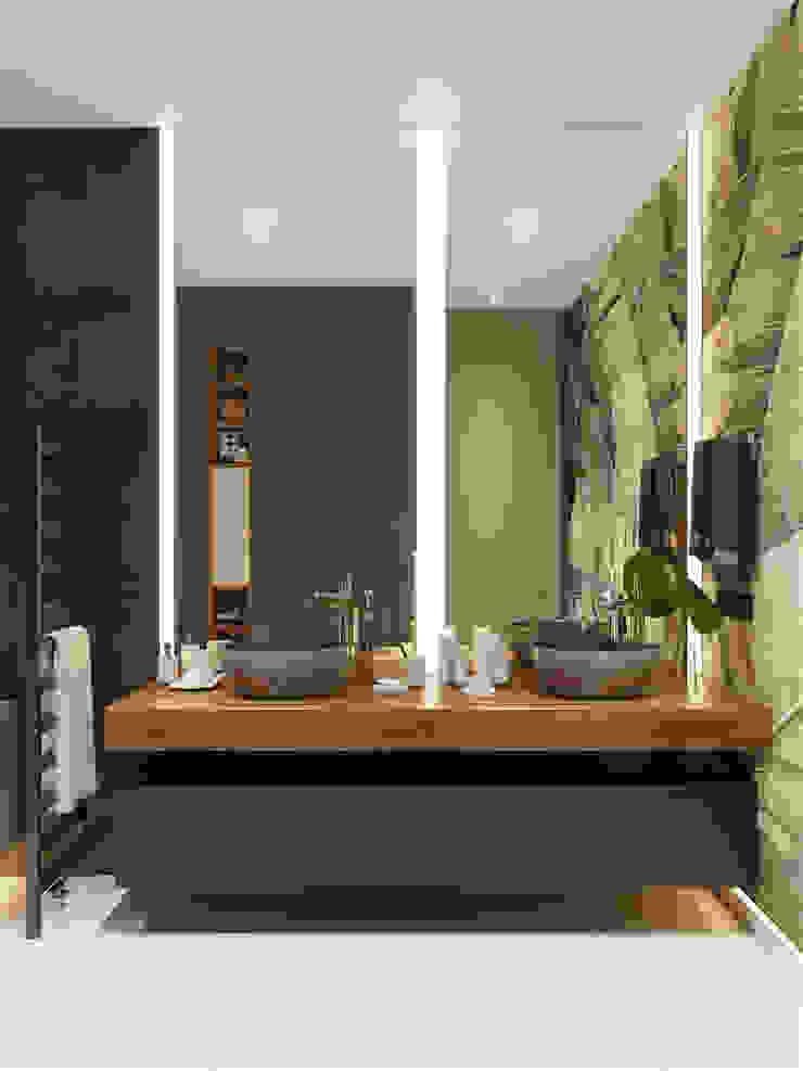 Minimalist style bathroom by «Студия 3.14» Minimalist