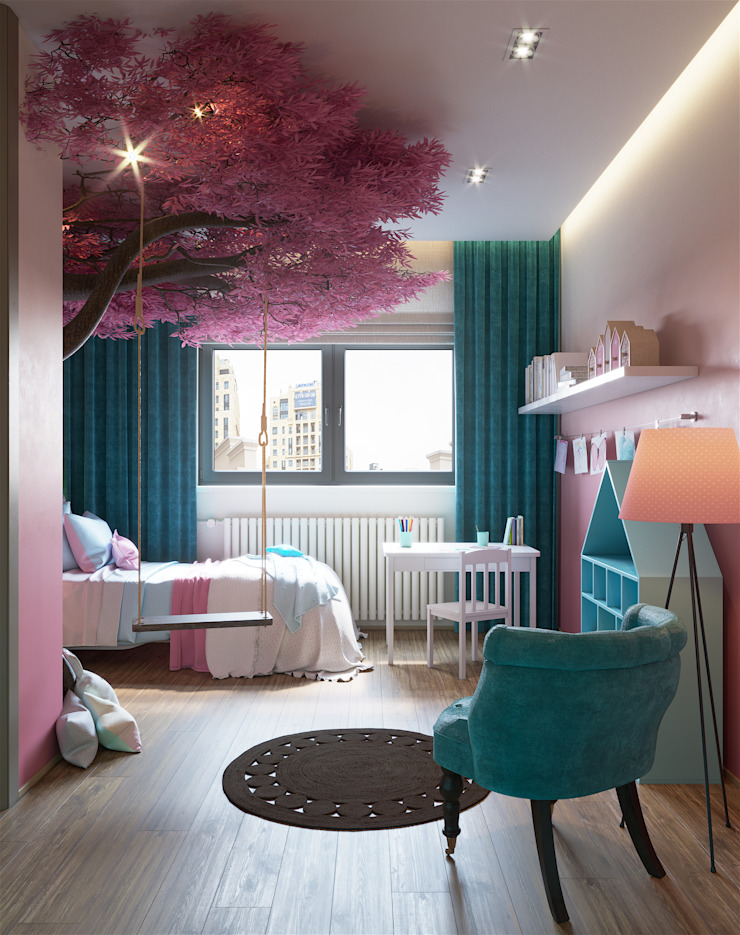 «Студия 3.14» Girls Bedroom