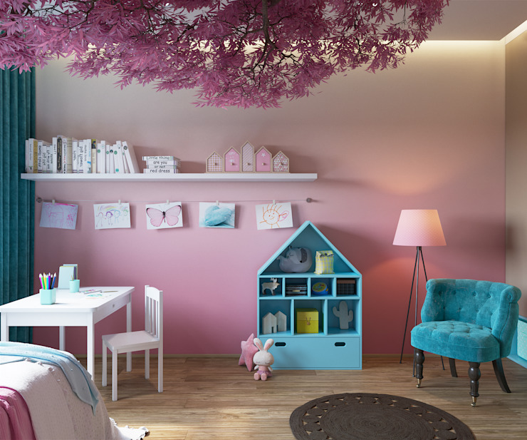 «Студия 3.14» Nursery/kid's room