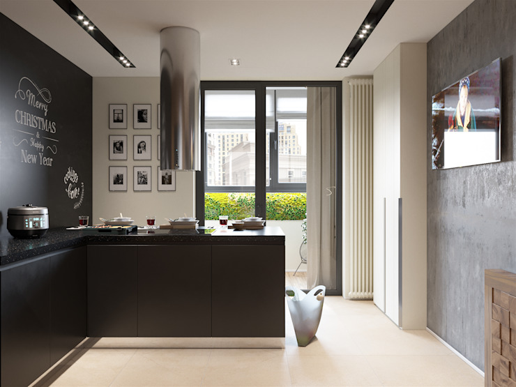 «Студия 3.14» Built-in kitchens