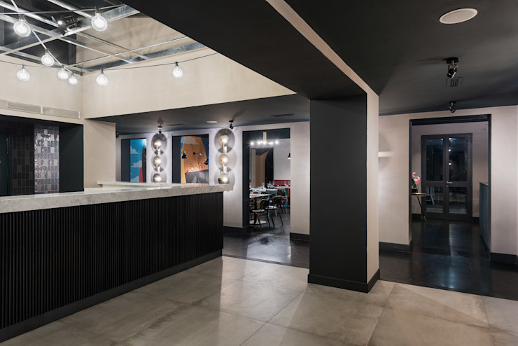 Salas de jantar modernas por Grippo + Murzi Architetti Moderno