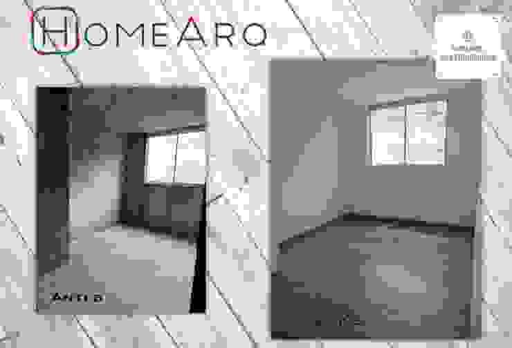 ANTES - DESPUES . Proyectos HOME!!! de HOME ARQ Moderno