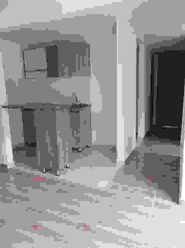 Cocina . PROYECTOS HOME!!! de HOME ARQ Moderno Aglomerado