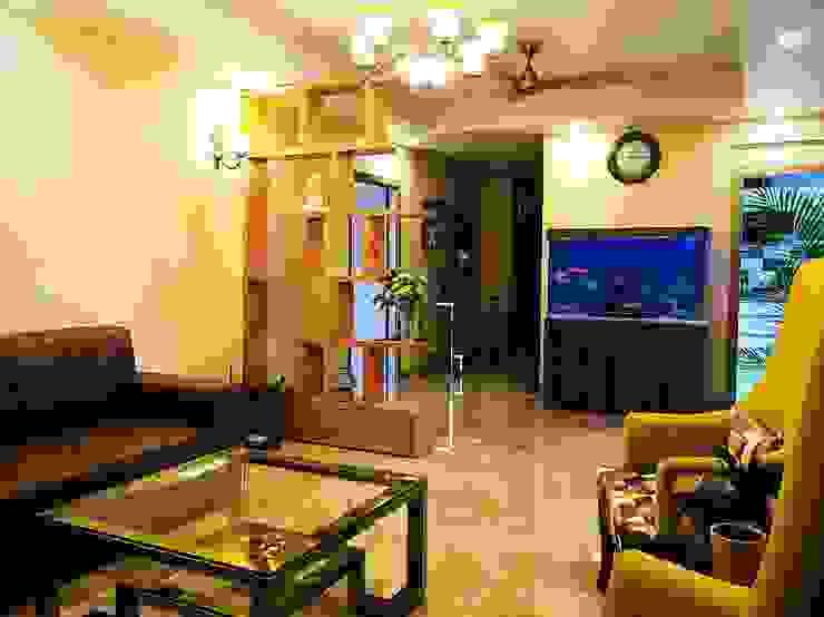Aquarist Salas de estilo moderno Marrón