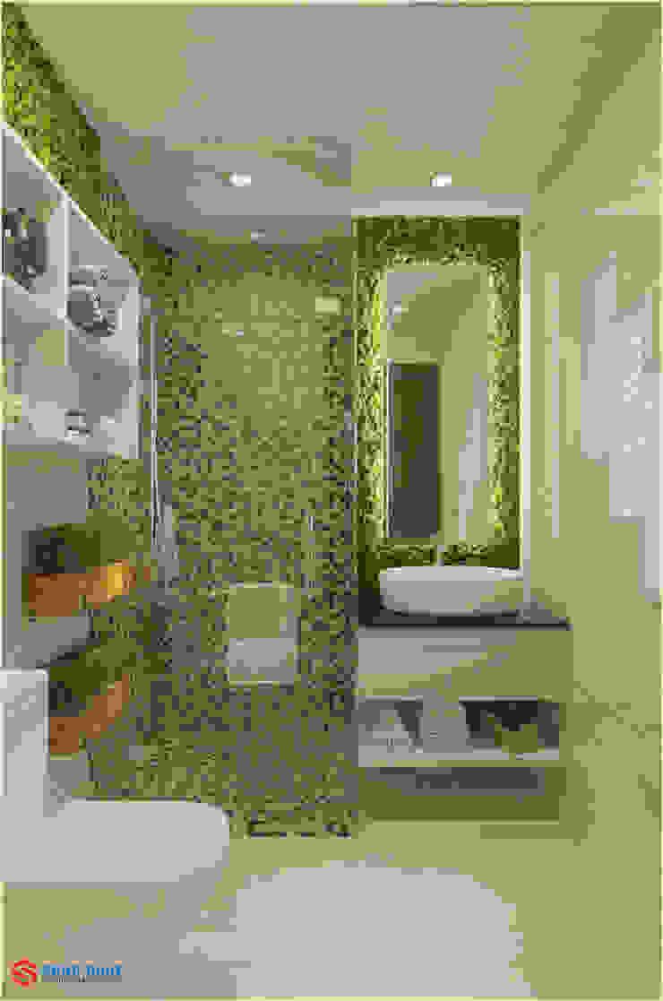 Công ty TNHH TK XD Song Phát ห้องน้ำกระจก กระเบื้อง Grey