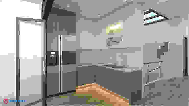Công ty TNHH TK XD Song Phát ห้องครัวซิงก์และก๊อกน้ำ กระเบื้อง White