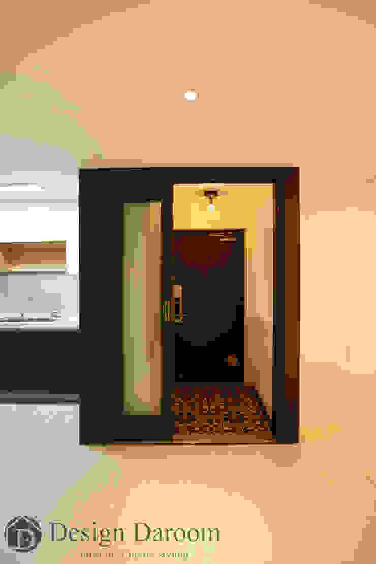 광장동 현대파크빌 25py 현관 모던스타일 복도, 현관 & 계단 by Design Daroom 디자인다룸 모던