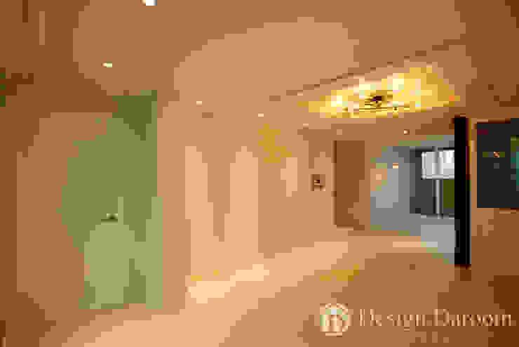 광장동 현대파크빌 25py 거실 모던스타일 거실 by Design Daroom 디자인다룸 모던