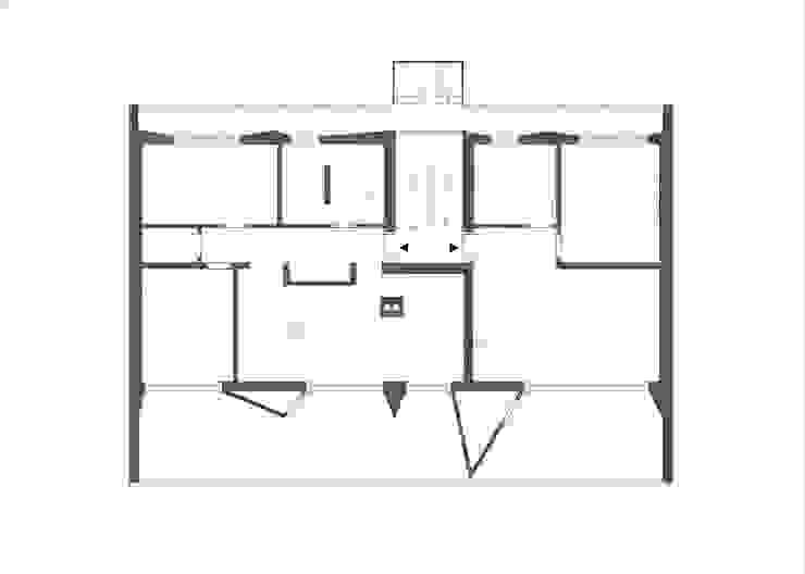 Grundriss:  Häuser von boehning_zalenga  koopX architekten in Berlin,