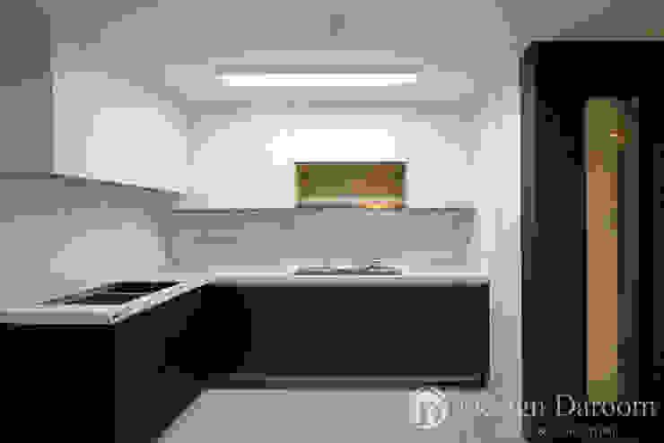 광장동 현대파크빌 25py 주방 모던스타일 주방 by Design Daroom 디자인다룸 모던