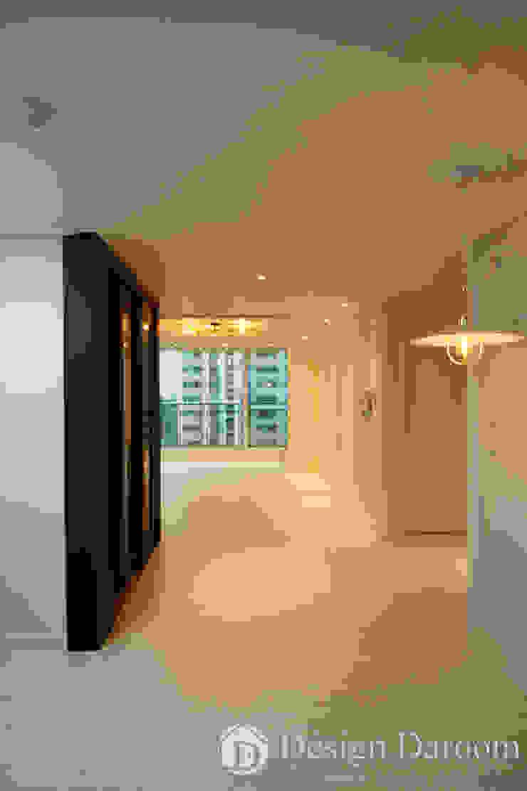 광장동 현대파크빌 25py 주방 by Design Daroom 디자인다룸 모던