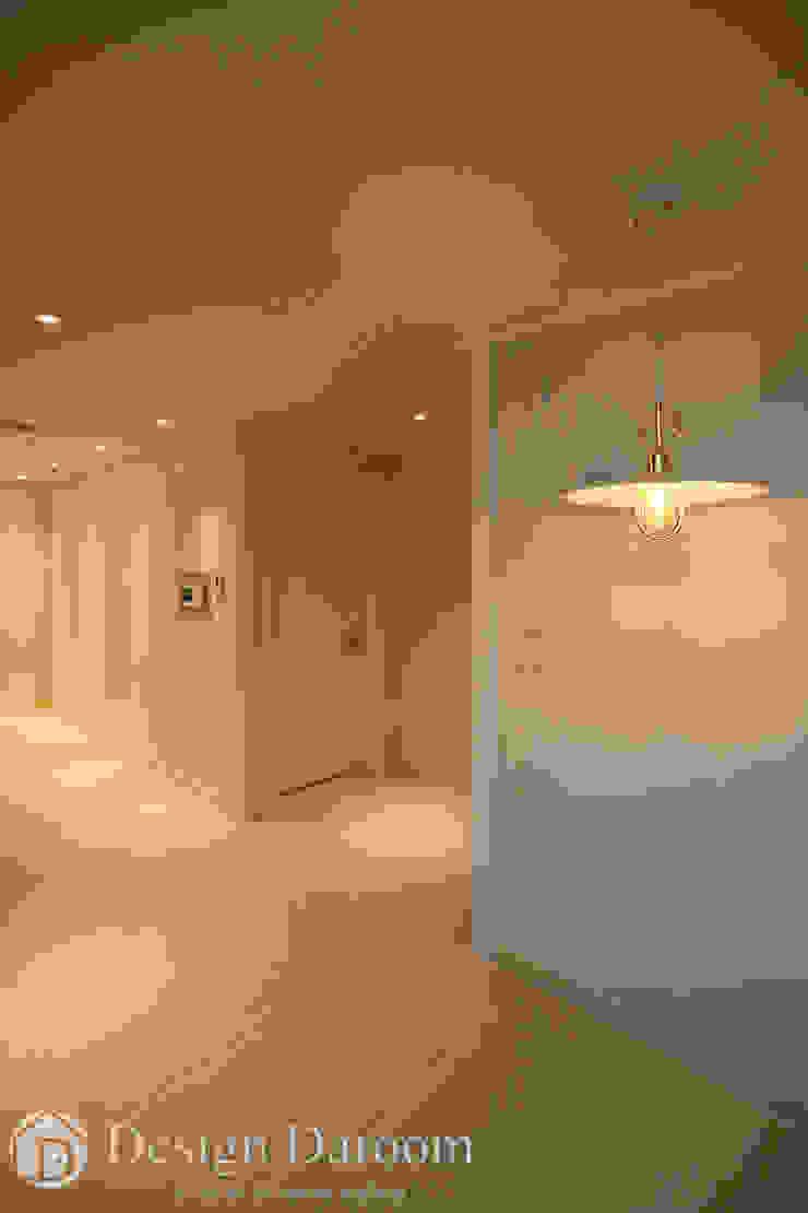 광장동 현대파크빌 25py 다이닝룸 모던스타일 다이닝 룸 by Design Daroom 디자인다룸 모던