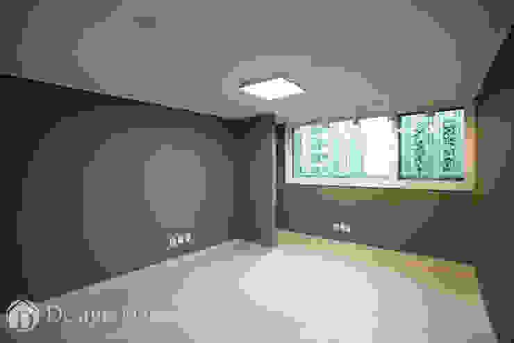 광장동 현대파크빌 25py 침실 모던스타일 침실 by Design Daroom 디자인다룸 모던