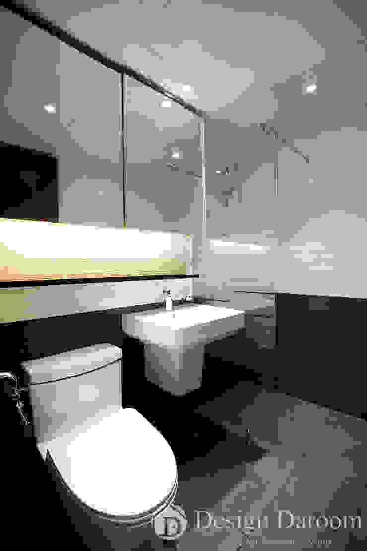 광장동 현대파크빌 25py 욕실 모던스타일 욕실 by Design Daroom 디자인다룸 모던