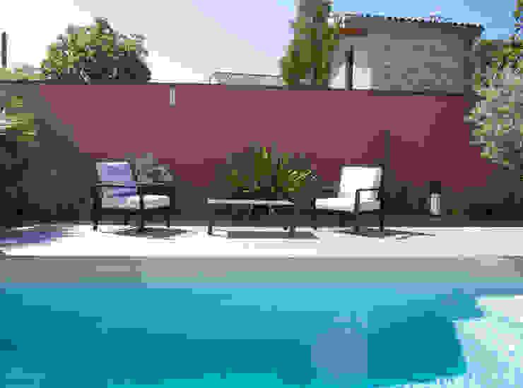 Mediterrane zwembaden van E/P ESPACE DESIGN - Emilie Peyrille Mediterraan