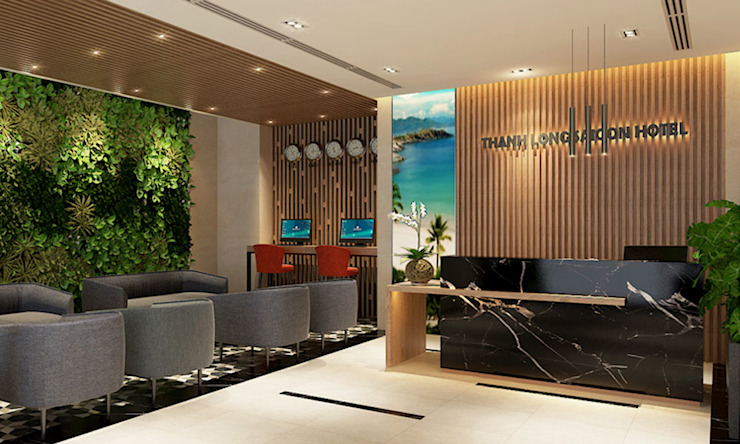 de thiết kế khách sạn hiện đại CEEB Moderno