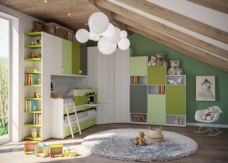 Mondo Camerette Nursery/kid's roomBeds & cribs
