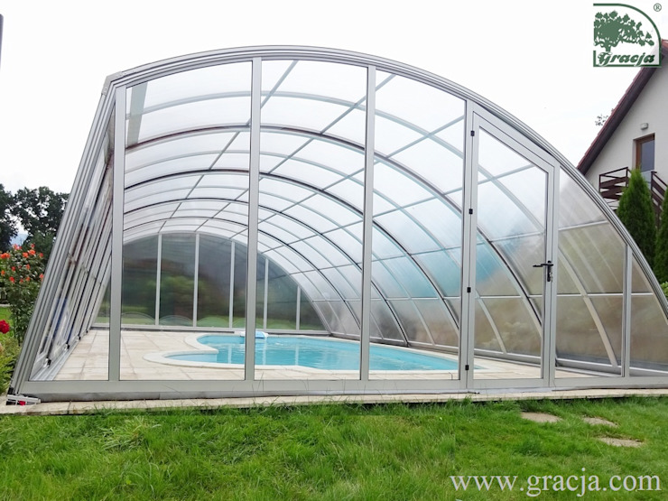 Moderne Pools von GRACJA SP. Z O.O. Modern Aluminium/Zink