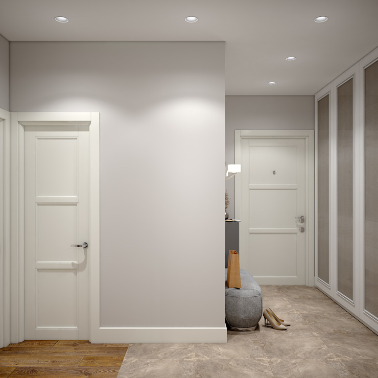 «Студия 3.14» 走廊 & 玄關